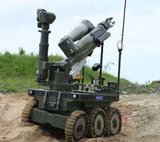 CUTLASS Unmanned Explosive Ordnance Disposal Robot